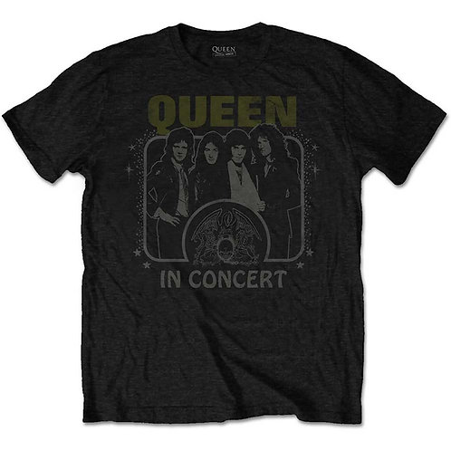 Queen - In Concert (tricou unisex)