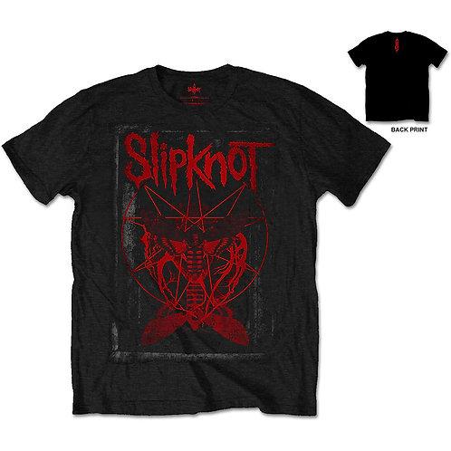 Slipknot- Dead Effect- imprimeu față/spate (tricou unisex)