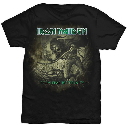 Iron Maiden - From Fear To Eternity Distressed (tricou unisex)