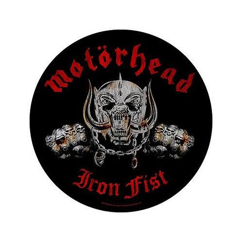 Motorhead - Iron Fist (patch - back)