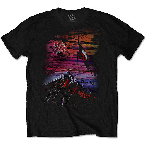 Pink Floyd - The Wall Flag & Hammers (tricou unisex)