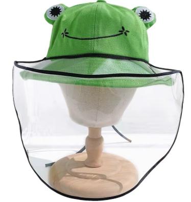 Chapeau Protecteur Grenouille