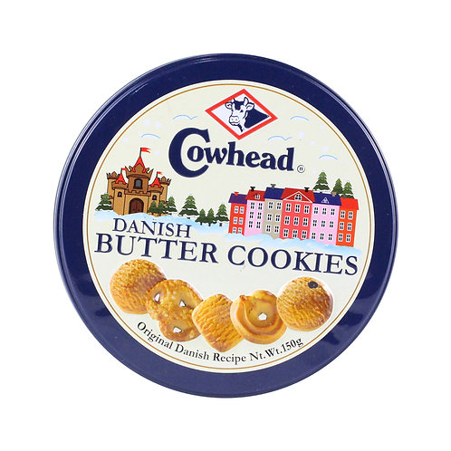 Cowhead Danish Butter Cookies Tin 150g
