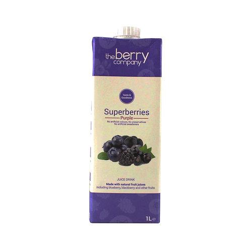 Berry Co. Super Berry Purple Juice 1L