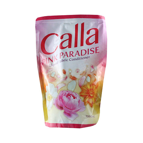 Calla Liquid Fabric Conditioner Pink Paradise 1L SUP