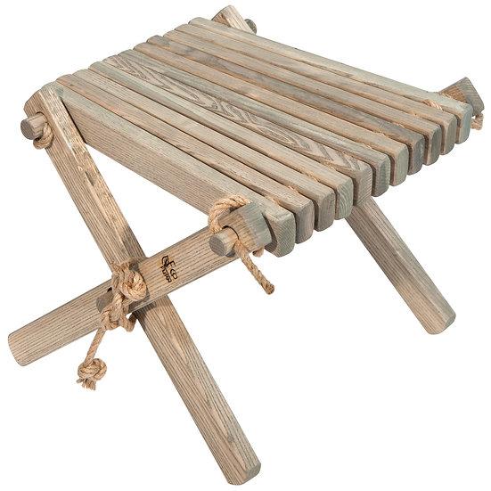 LILLI Table appoint / repose pied mélèze