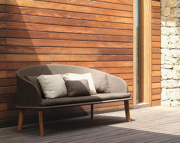 TALENTI - CLEO Ensemble canapé 1 et fauteuil lounge 2 pièces