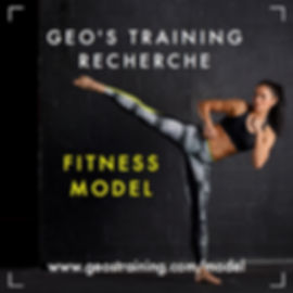 Fitness Model Geo's Training
