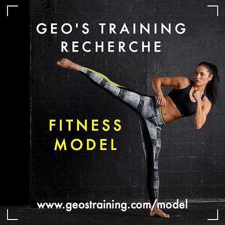 Fitness Model Geo's Training