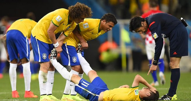 Crampes à la Coupe du Monde