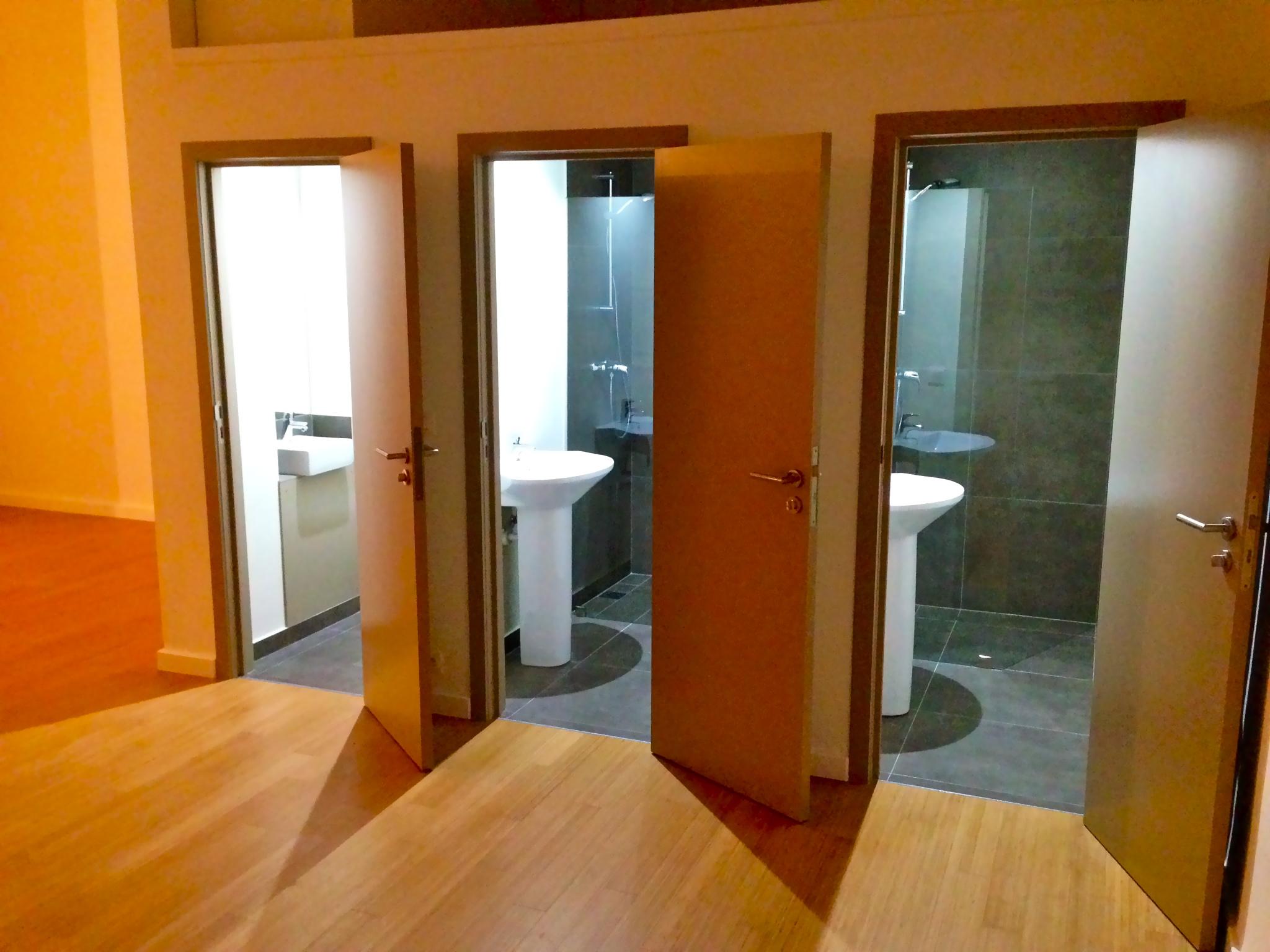 Vestiaires et toilette