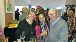 Joanne, Fabienne et son papa