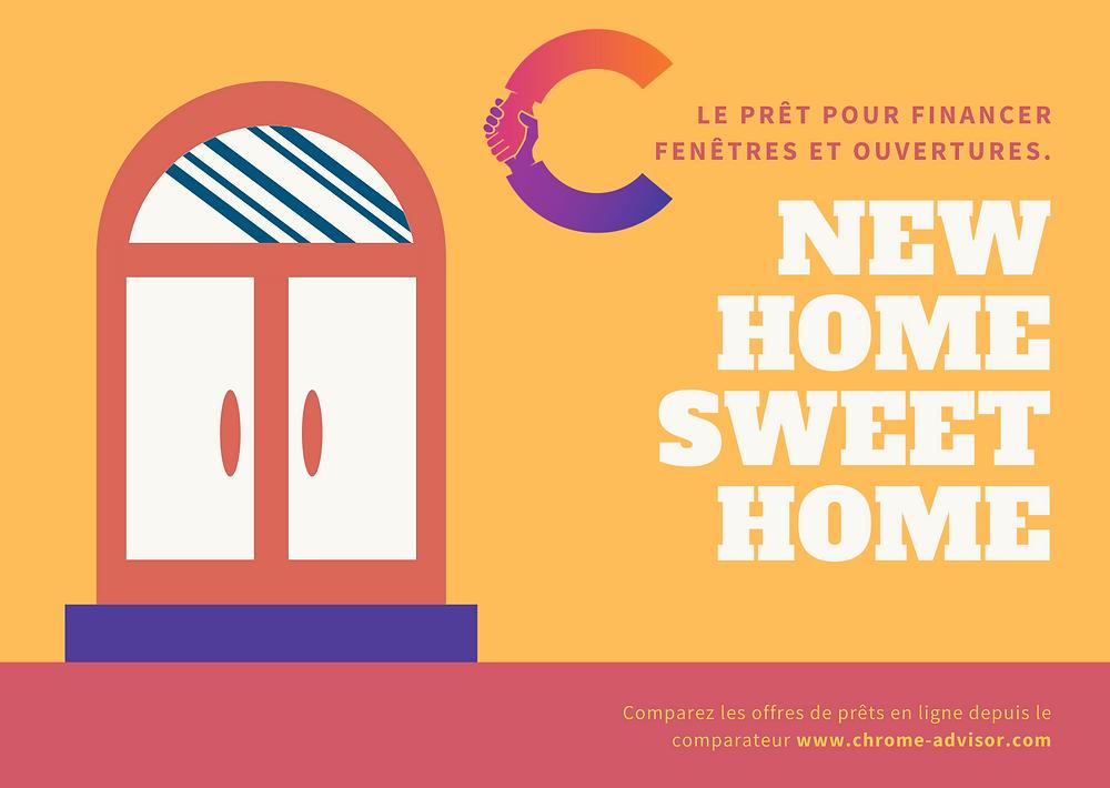 Améliorez le confort et l'isolation de votre logement avec le prêt travaux fenêtre