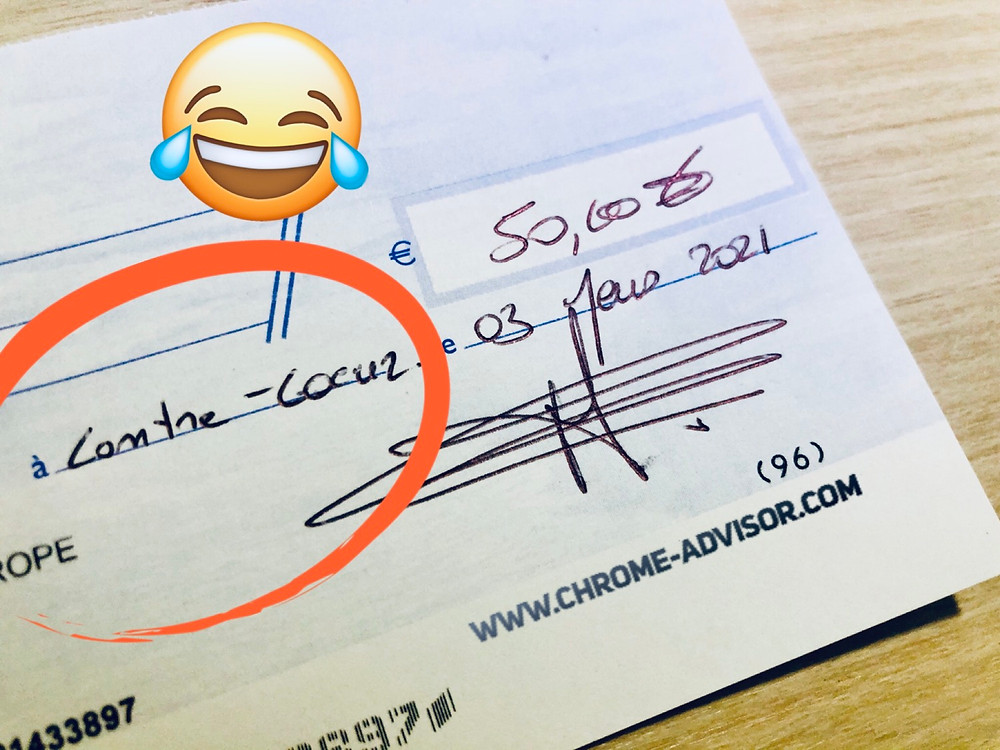 Humour argent