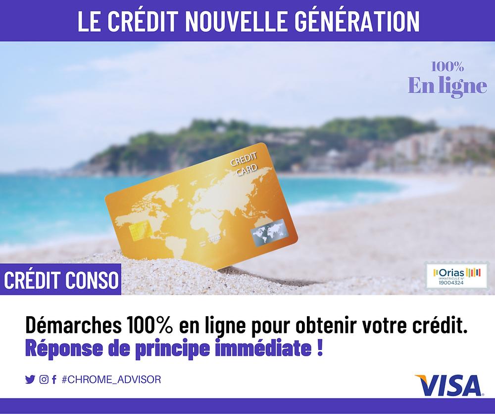 Découvrez le crédit nouvelle génération
