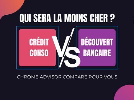 Découvert bancaire ou crédit à la consommation, quel est le moins cher ?