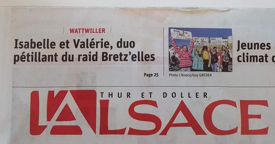 Journal l'Alsace Surdigaz'Elles