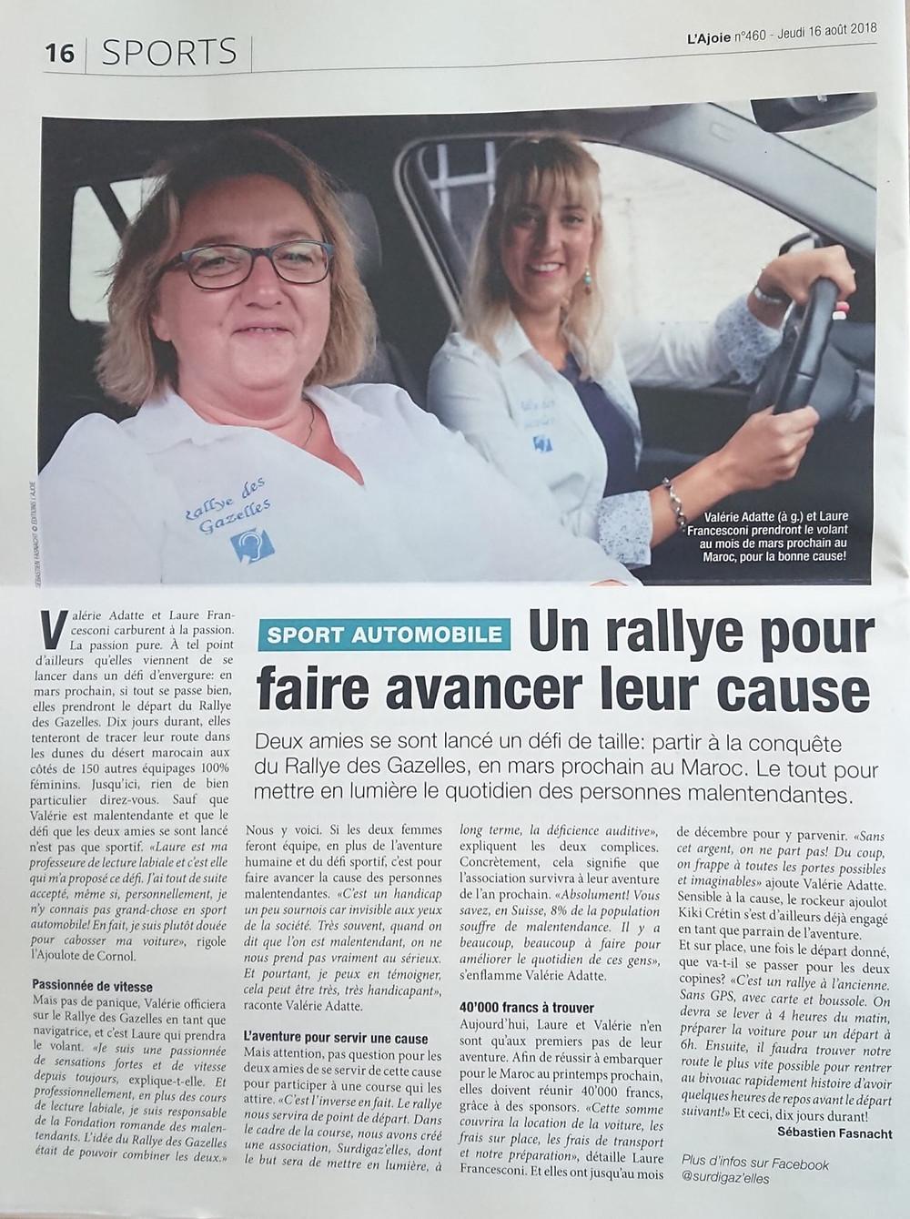 Journal Lajoie Surdigaz'Elles