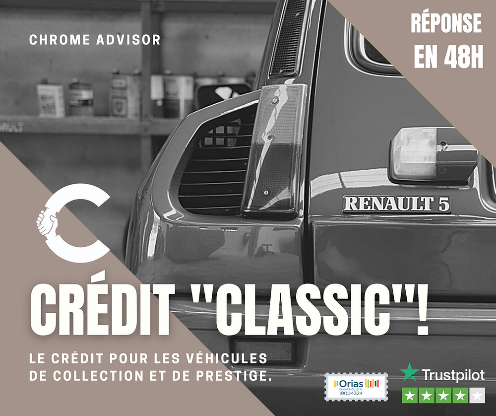 Financer votre voiture de collection