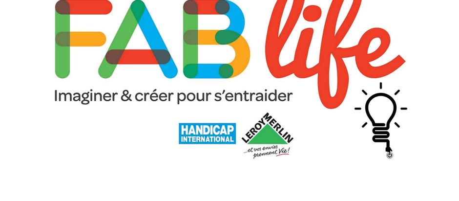 Des initiatives à suivre ! Concours Fab Life : rendez-vous en Octobre !
