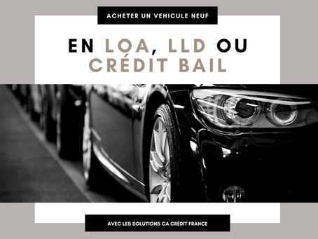 Crédit bail / Leasing