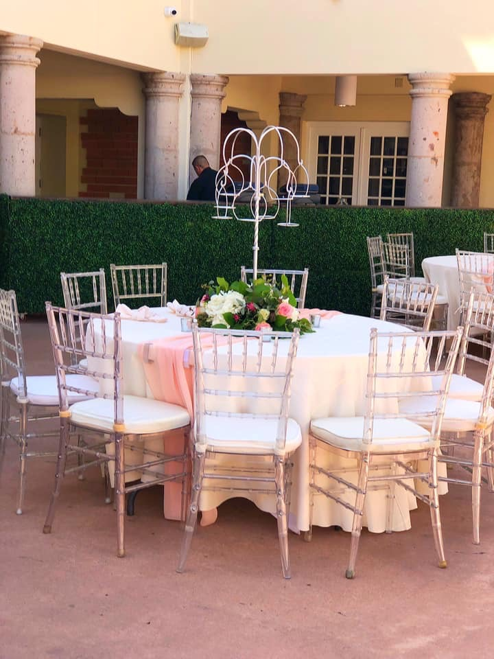 Summer Outdoor Wedding Reception