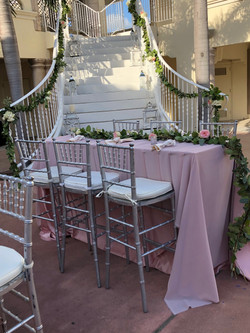 Summer Outdoor Wedding Reception