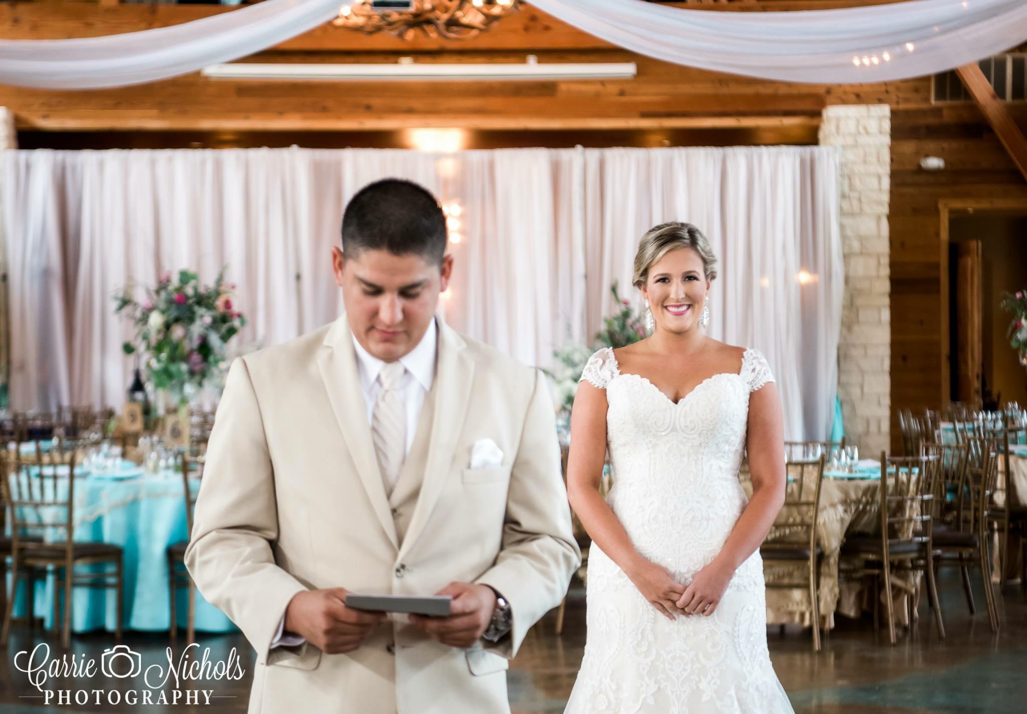 Rustic Wedding - First Look