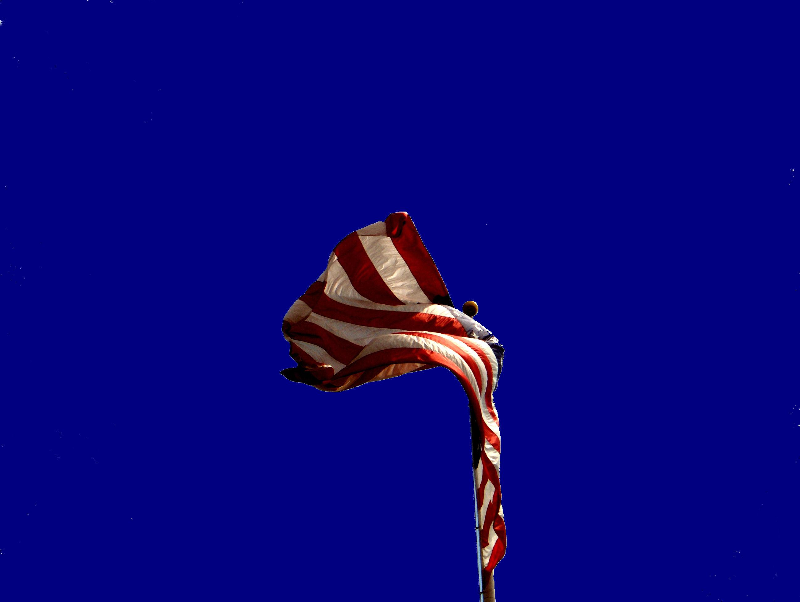 American flag Taunton