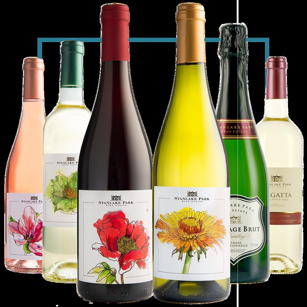 English Rose Mixed Case Wine
