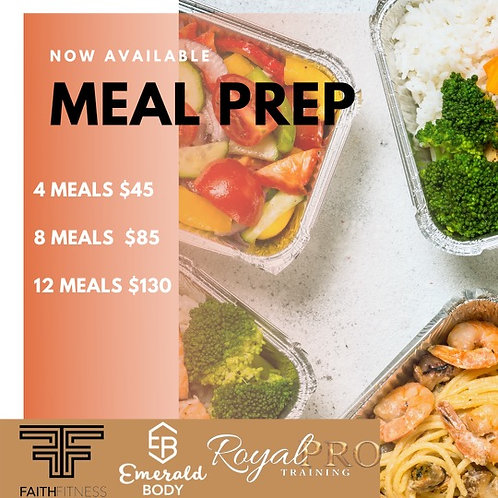 Meal Prep (12 meals)