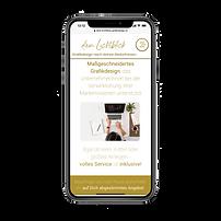 Mobile Ansicht - dein Lichtblick Grafikdesign