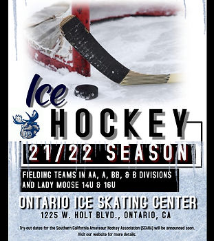 Copy of Hockey Flyer - Made with PosterM