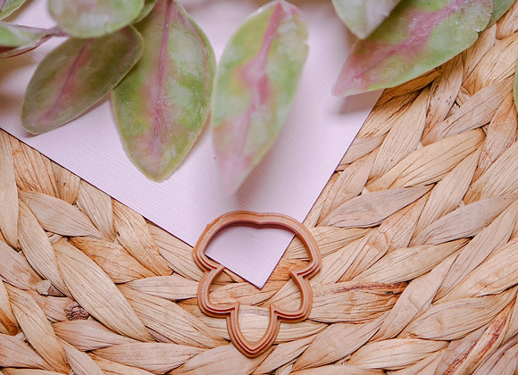 Leaf Abstract Polymer Clay Cutter