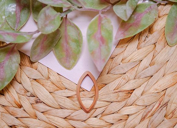 Leaf Shape Polymer Clay Cutter