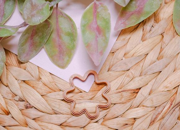 Splat Flower Polymer Clay Cutter