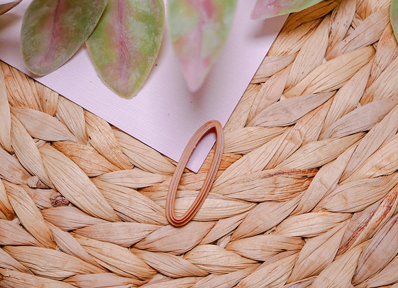 Thin Oval Polymer Clay Cutter