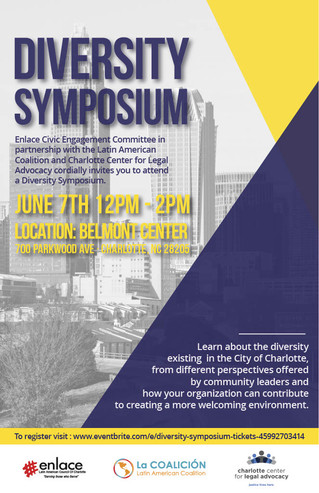 Enlace Civic Engagement Committee to host Diversity Symposium on June 7th
