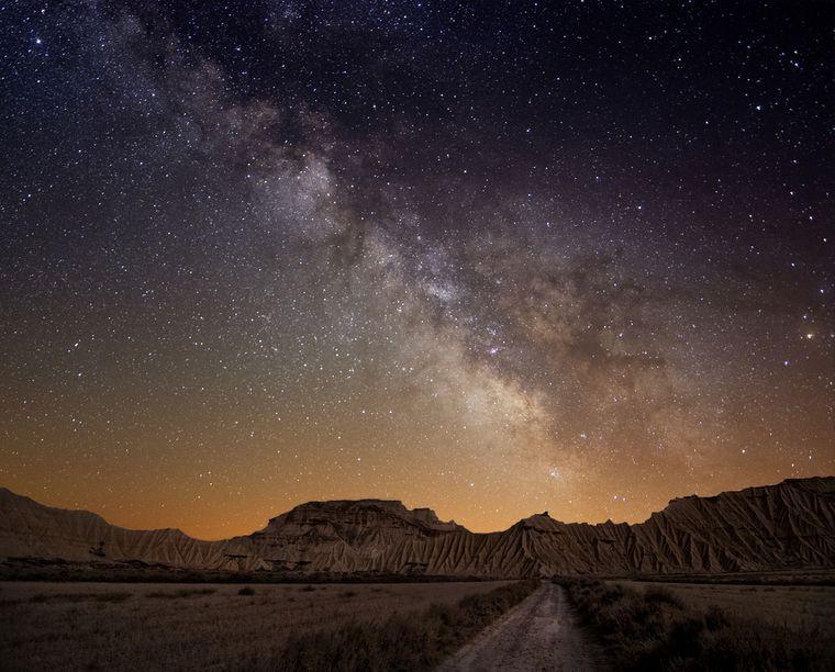 céu sem poluição luminosa
