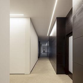 Iluminação Tromilux linha de perfil de aluminio continua encastrada com luz LED continua comprimentos personalizados