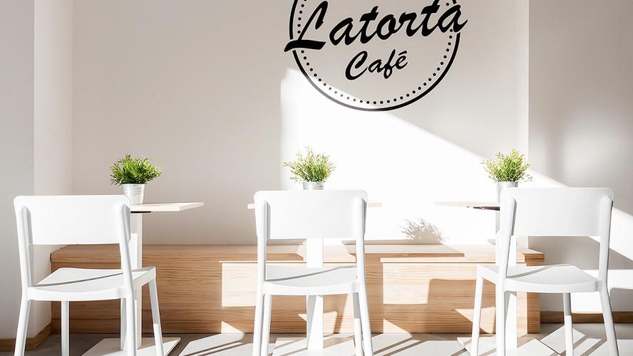 Iluminação Tromilux: Cafeteria La Torta Pontevedra