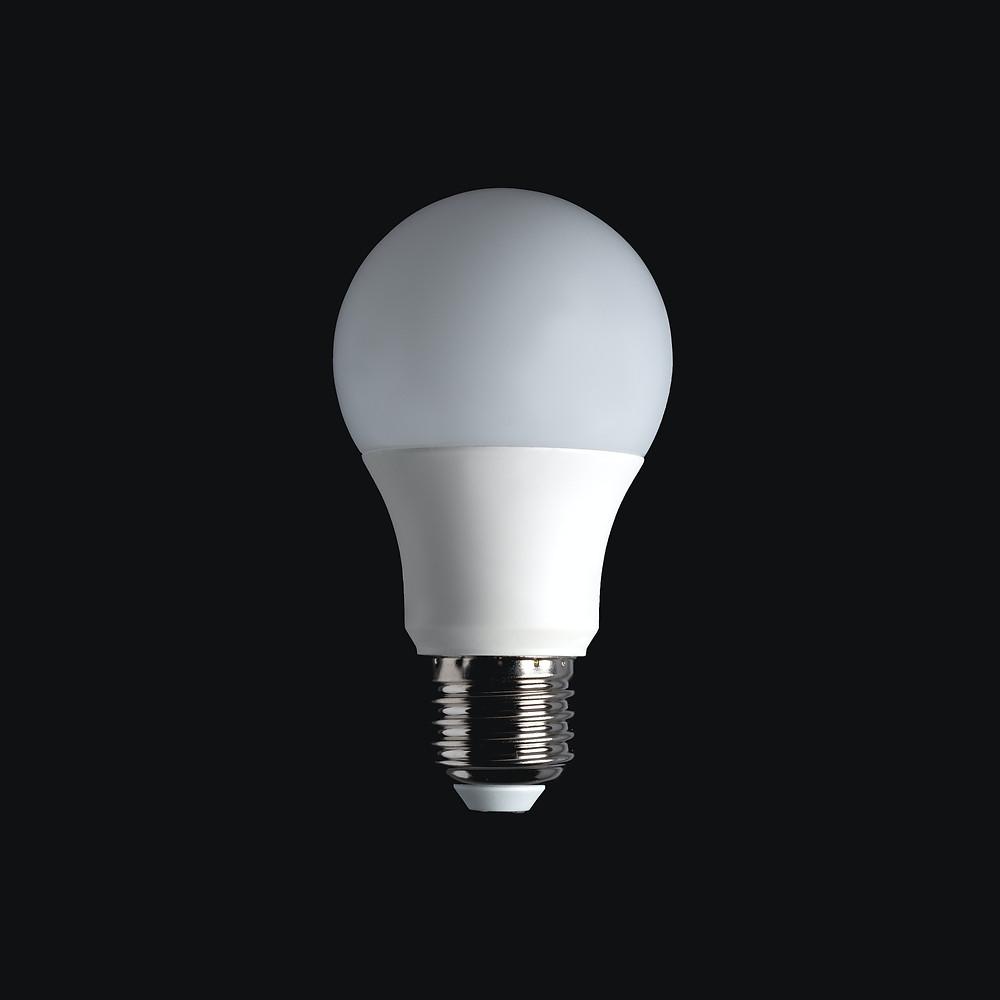 iluminação moderna lâmpada led inovadora e económica