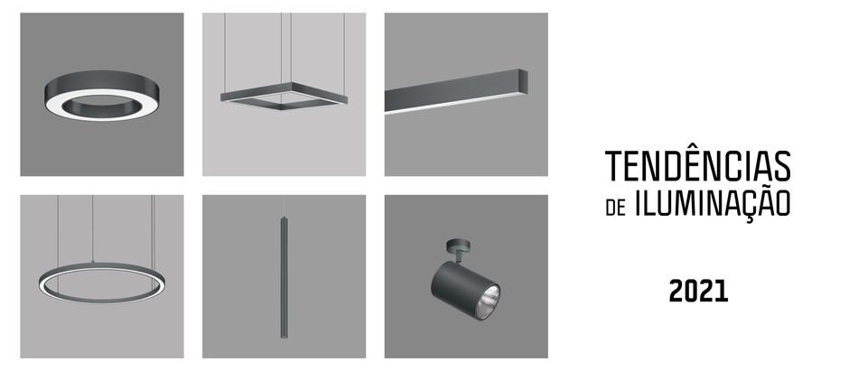 6 tendências de Iluminação para 2021