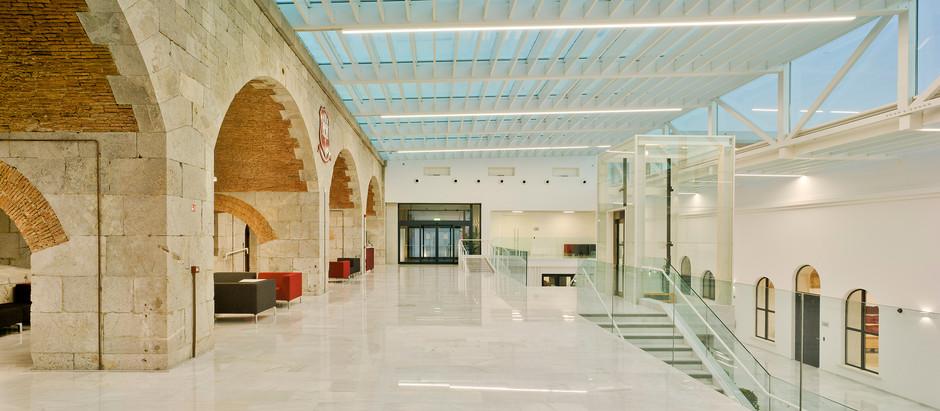 Iluminação Tromilux: Universidade de Gibraltar