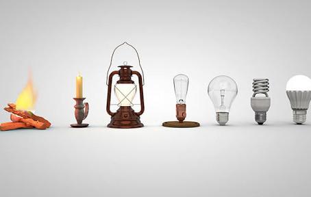 A História da Iluminação