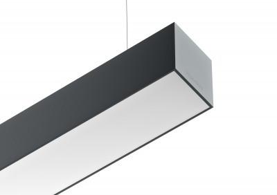 Iluminação Tromilux Luminária Referência produto 4052 perfil aluminio iluminação LED luminária suspensa linha continua comprimento personalizado
