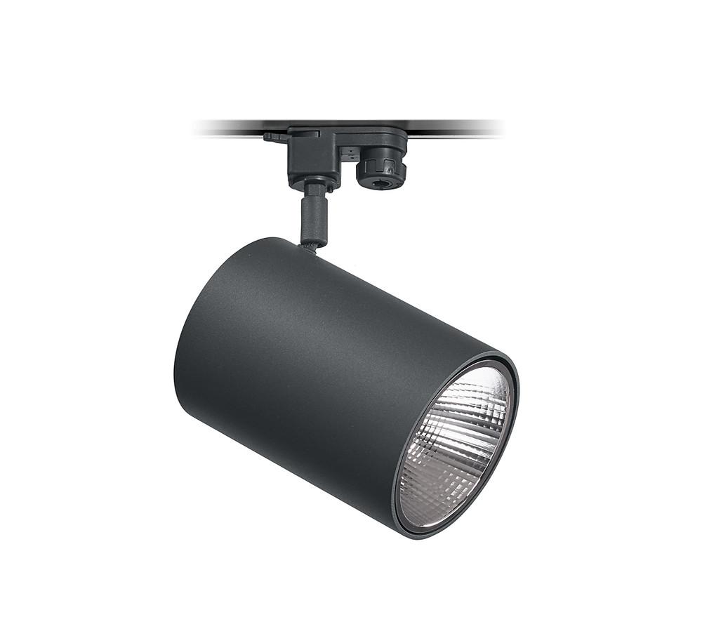 Tromilux Iluminação fabricante portugues iluminação candeeiros luminárias projetor orientável com adaptador calha trifásica referência 5081