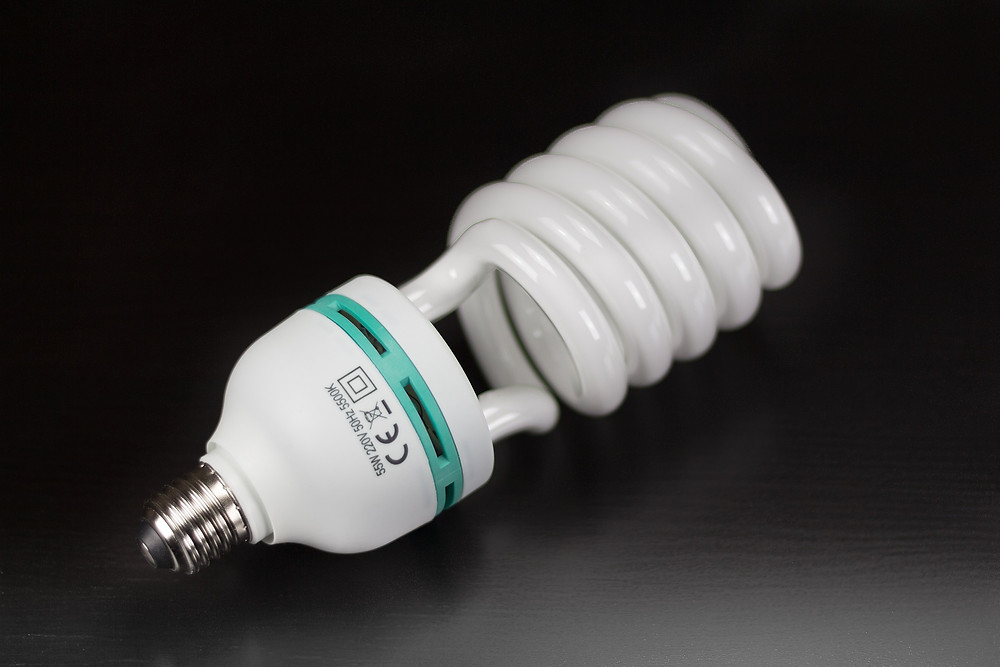 iluminação recente lâmpadas fluorescentes