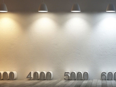 Guia para as diferentes temperaturas de cor na Iluminação