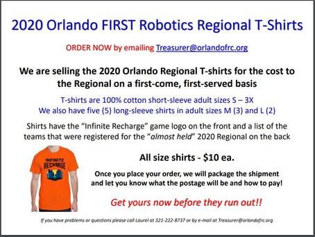 2020 Orlando Regional T-Shirts For Sale